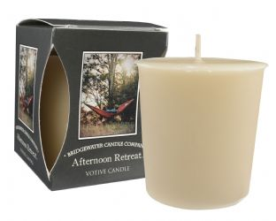 Afternoon Retreat Boxed Votive Candle